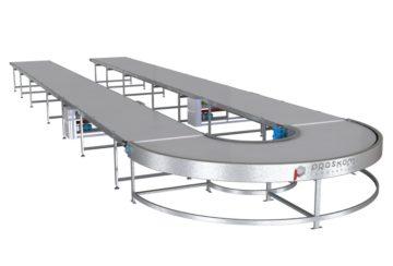 Ленточные транспортеры для пищевой промышленности