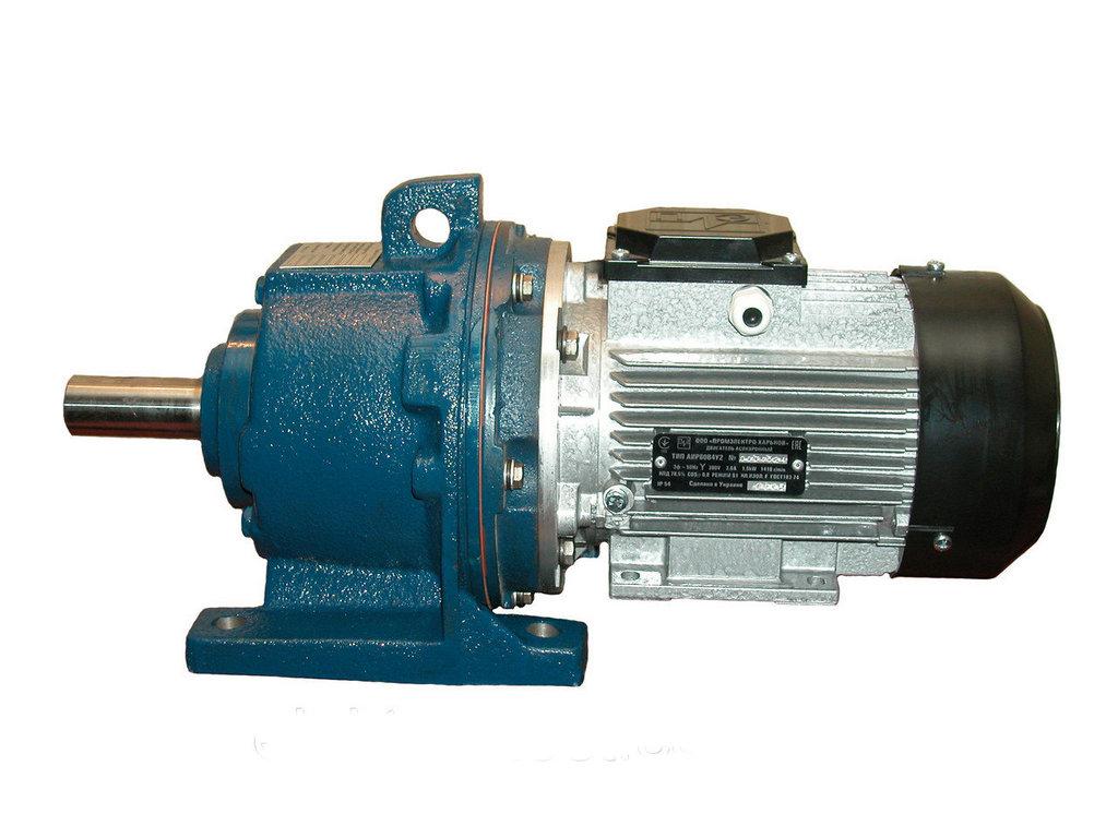 Визуализация модели мотор-редуктора №3