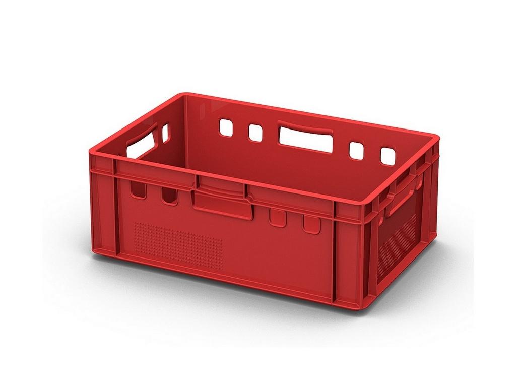 Визуализация модели пластиковых ящиков №1