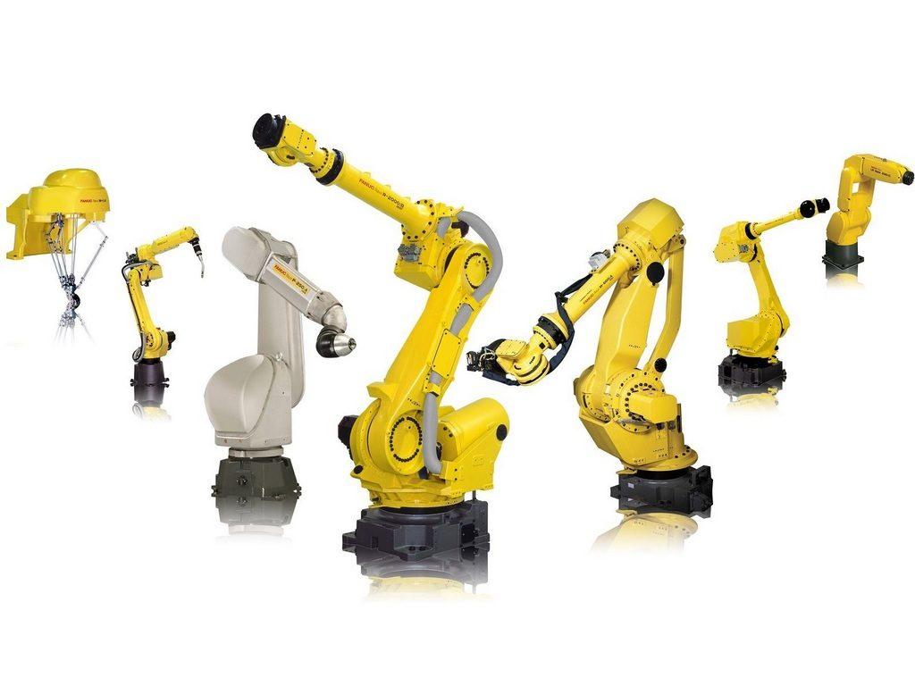 Визуализация модели робота-манипулятора №1