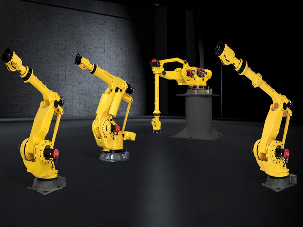 Визуализация модели робота-манипулятора №2