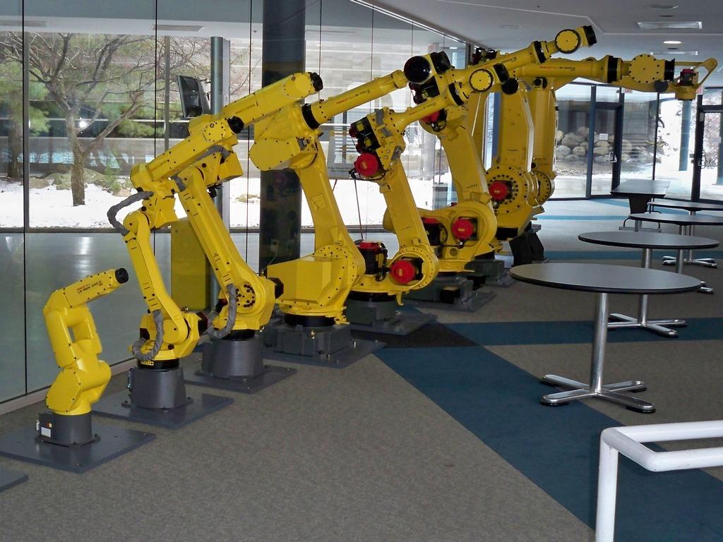 Визуализация модели робота-манипулятора №3