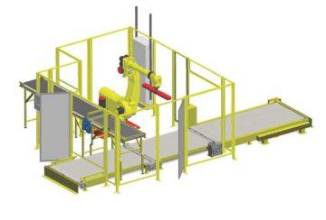 Конвейерный комплекс для деревообрабатывающего предприятия