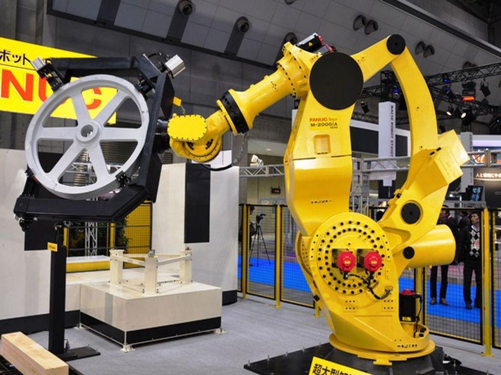 Антропоморфные роботы Fanuc