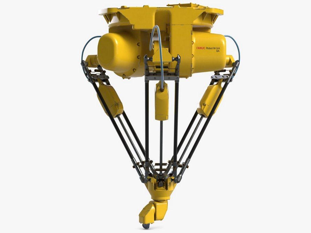 фанук дельта-роботы