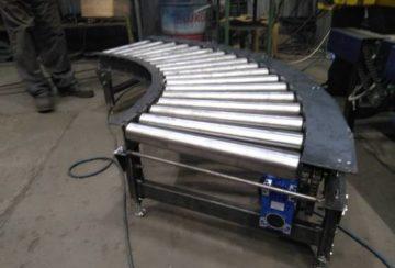 Поворотный конвейер для компании Хлебодар